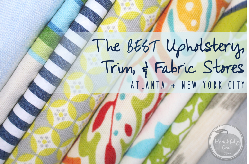 The best fabric stores in atlanta new york city for Fabric sellers