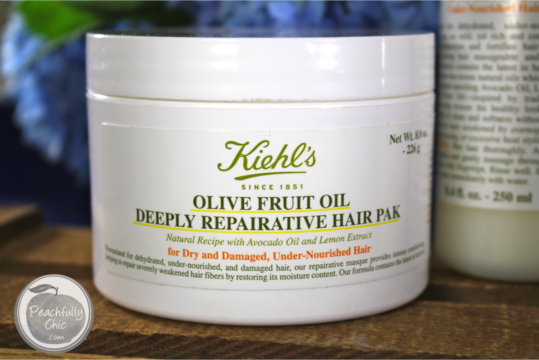 kiehls-olive-fruit-oil-deeply-repairative-hair-pak