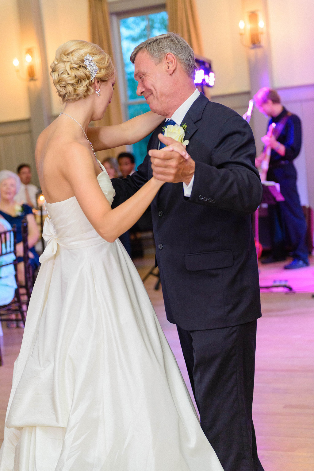 peachfully-chic-low-country-wedding-reception-father-daughter-dance-landslide-1