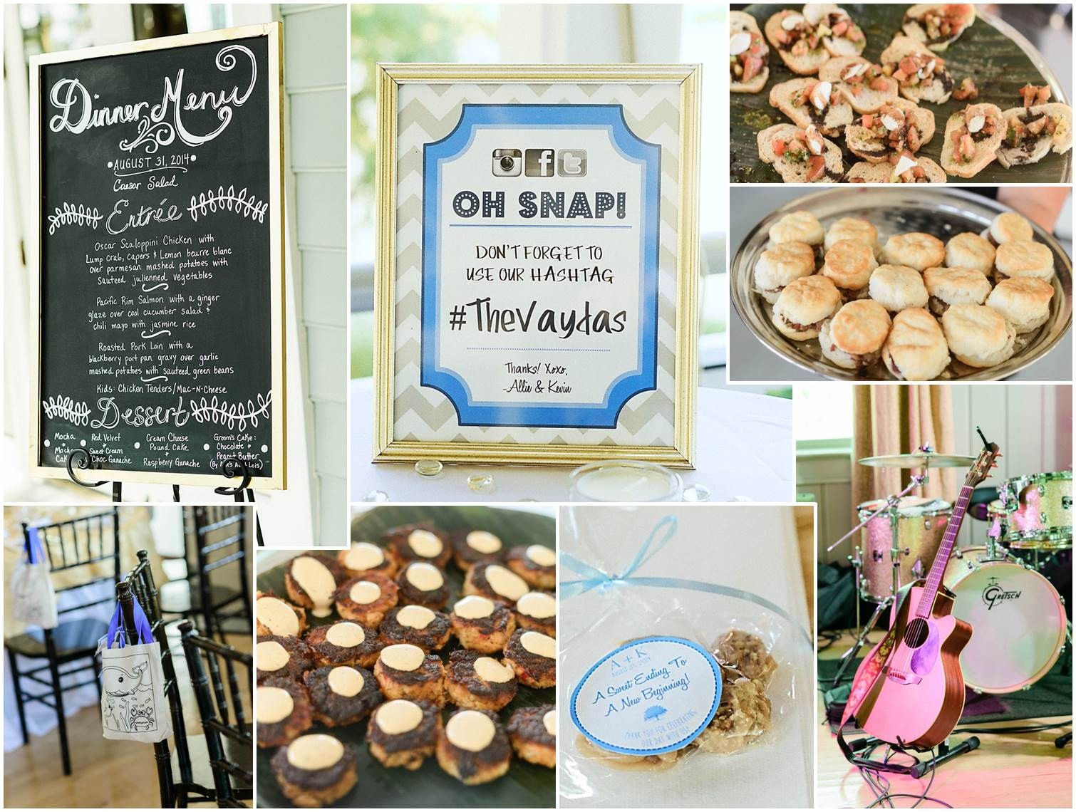 Peachfully Chic Low Country Wedding Mashup16