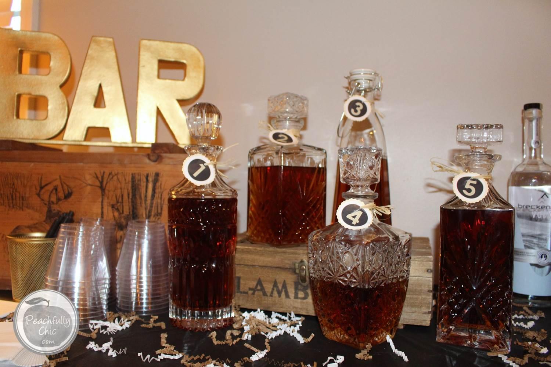 guys-birthday-party-manly-whiskey-tasting-10