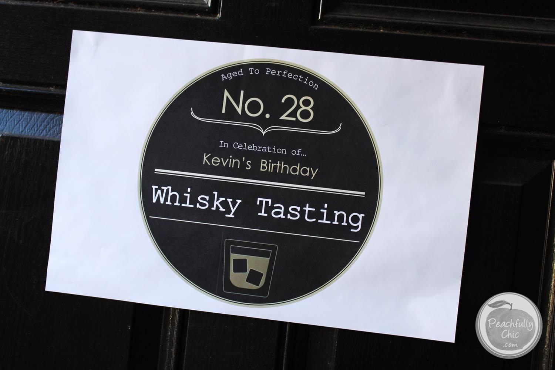 Planning A Guys Birthday Party Whiskey Tasting
