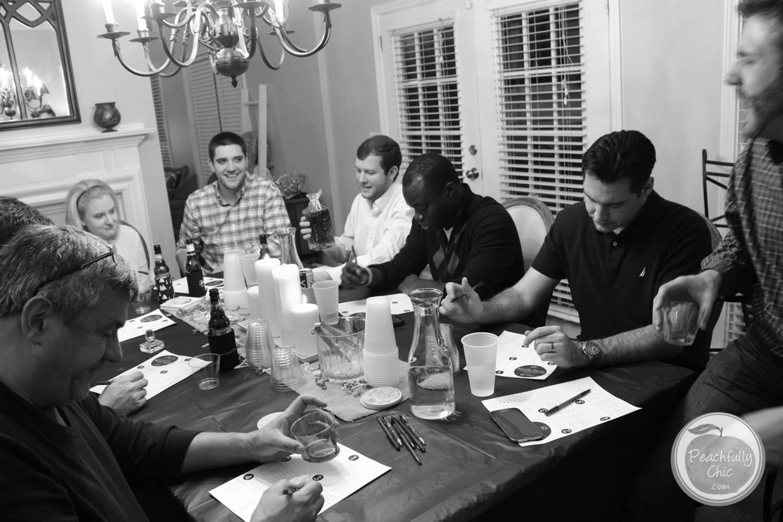 guys-birthday-party-manly-whiskey-tasting-14