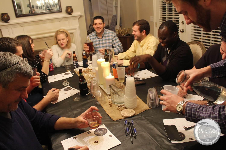 guys-birthday-party-manly-whiskey-tasting-15