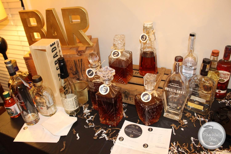Guys Birthday Party Manly Whiskey Tasting 16
