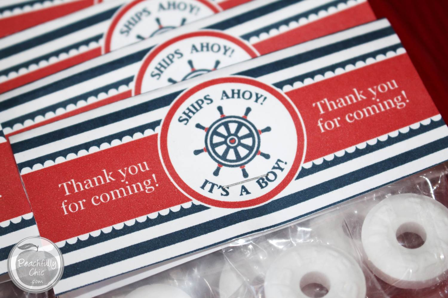 Nautical Baby Shower Decor Ideas Favors