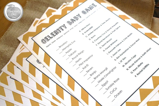 Peachfully Chic You Are My Sunshine Baby Shower  ...