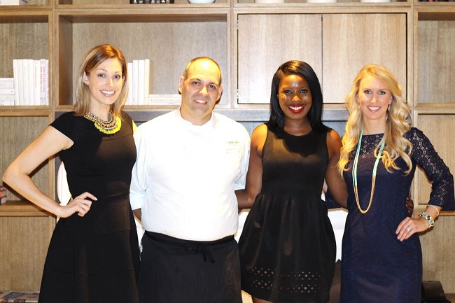 Peachfully-Chic-Le-meridien-atlanta-perimeter-the-hub-allison-cawley-eating-with-erica-kale-me-kelly-chef-color
