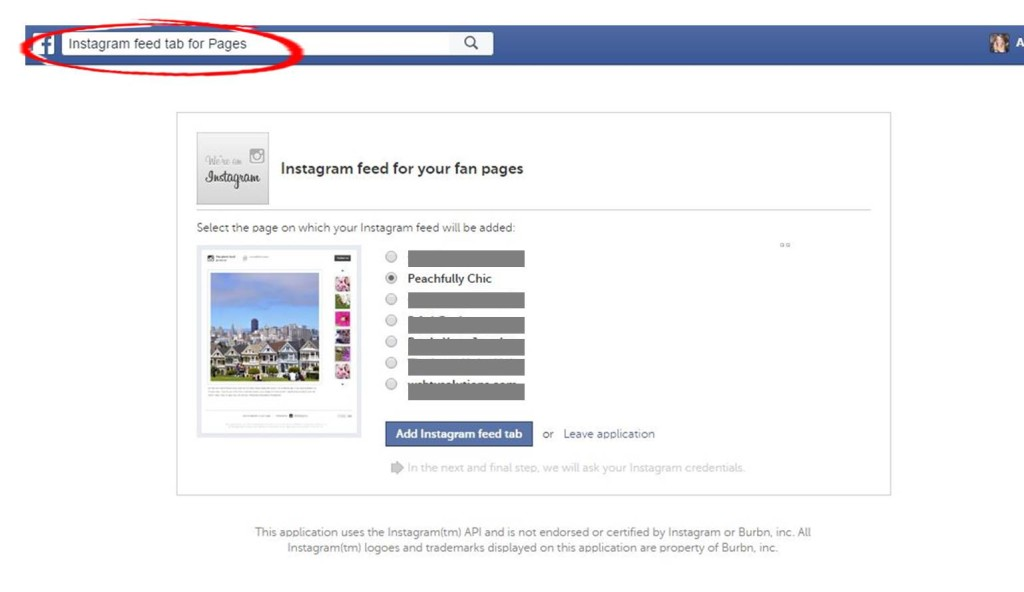 How To Add Social Media Tabs To Facebook Pages | Peachfully Chic