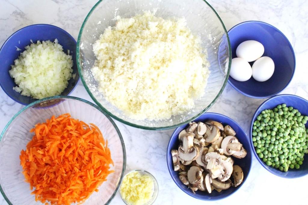 Peachfully-Chic-Homemade-Cauliflower-Fried-Rice-Recipe-ingredients-1