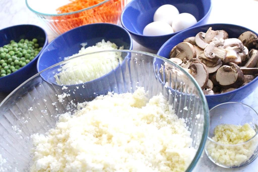 Peachfully-Chic-Homemade-Cauliflower-Fried-Rice-Recipe-ingredients-2