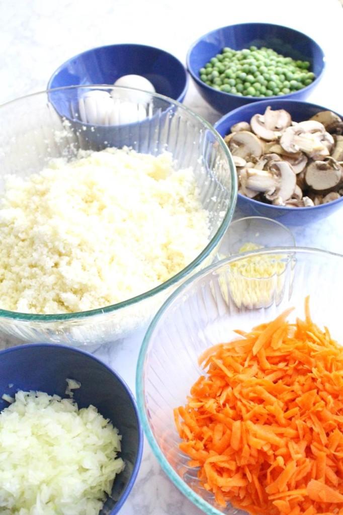 Peachfully-Chic-Homemade-Cauliflower-Fried-Rice-Recipe-ingredients-4