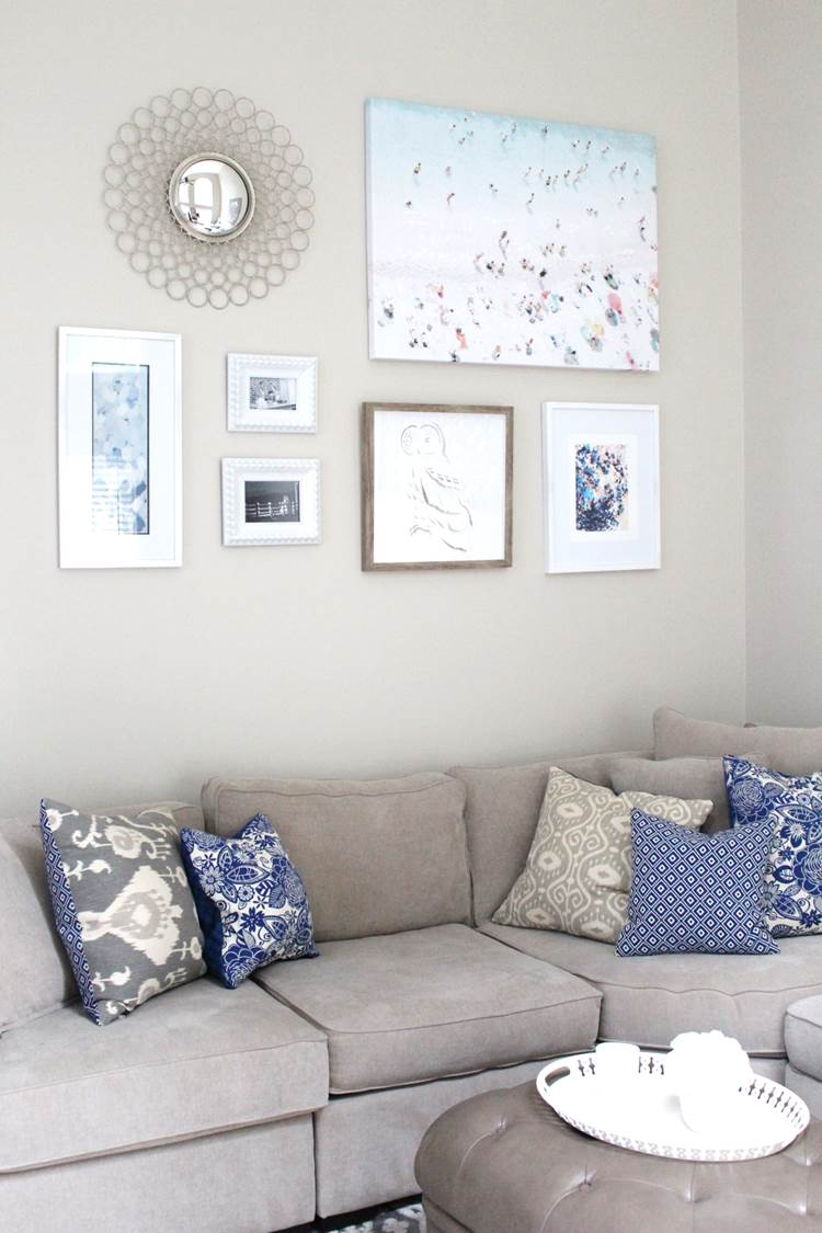 DIY Gallery Wall Art | Peachfully Chic