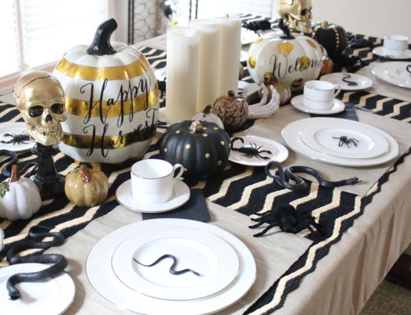 halloween-tablescape-black-gold-3