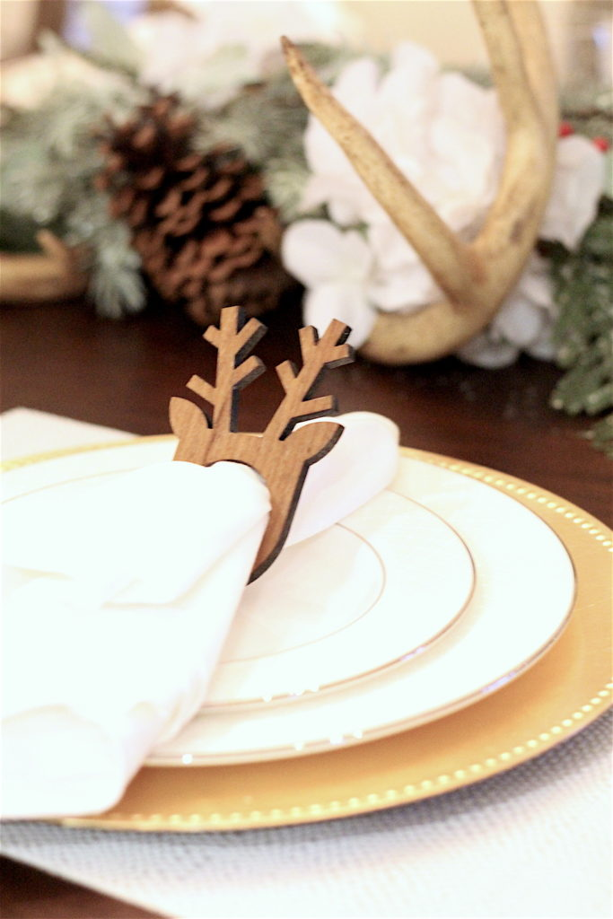 Christmas-Tablescape-Deer-Antlers-3