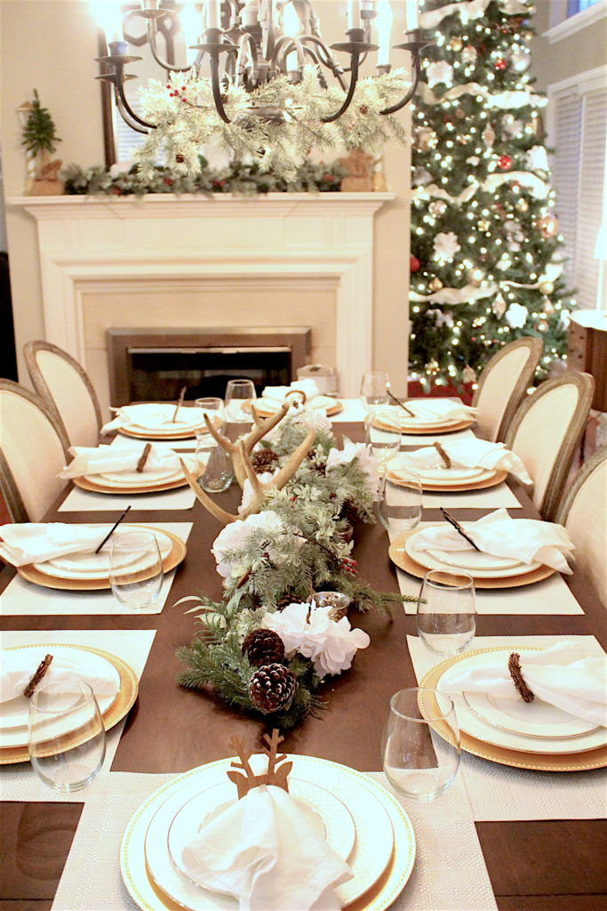 Christmas-Tablescape-Deer-Antlers-5