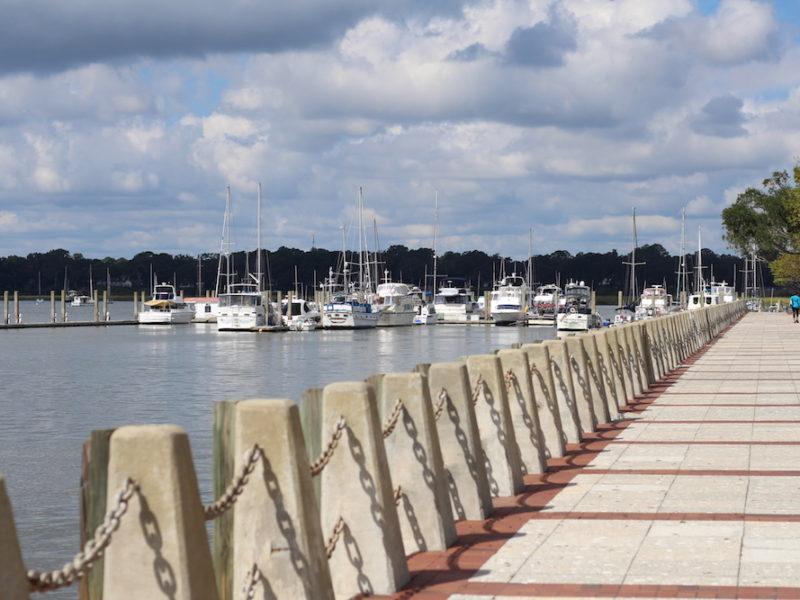 travel-blogger-beaufort-sc-marina