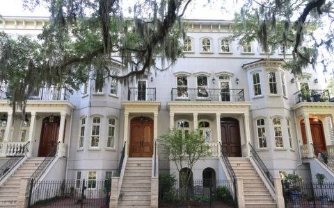 Savannah-Georgia-Row-Houses
