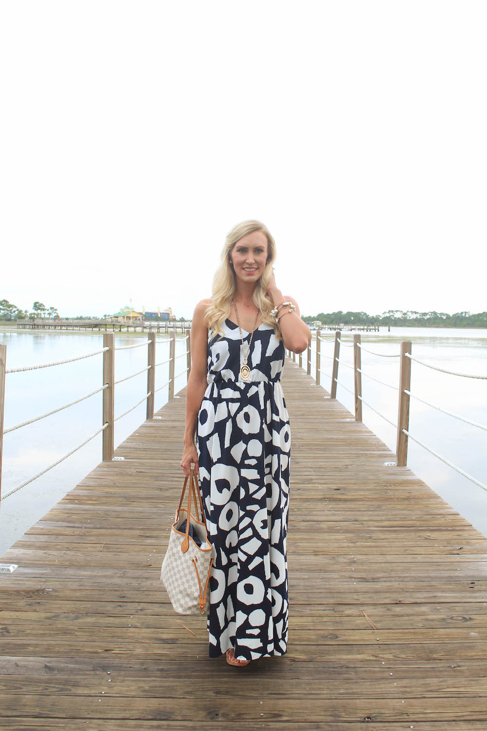 Allison-Cawley-Peachfully-Chic-Sheraton-Bay-Point-Resort-Dock-Florida-Travel-Blogger-2