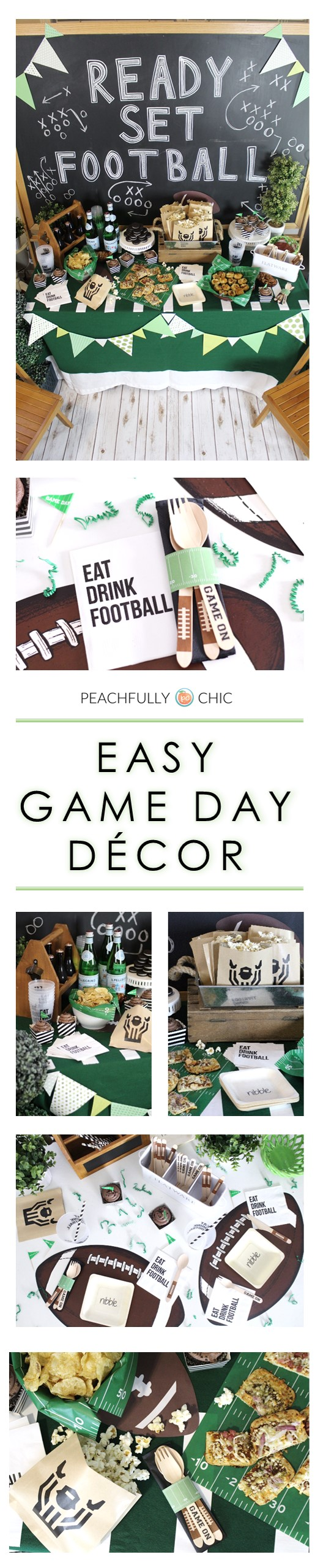 Football-Draft-Party-Tailgate-Decorations-Peachfully-Chic
