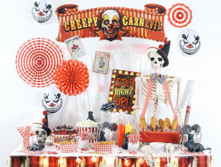 Halloween-Carnival-CarnEVIL-themed-party-tablescape-2