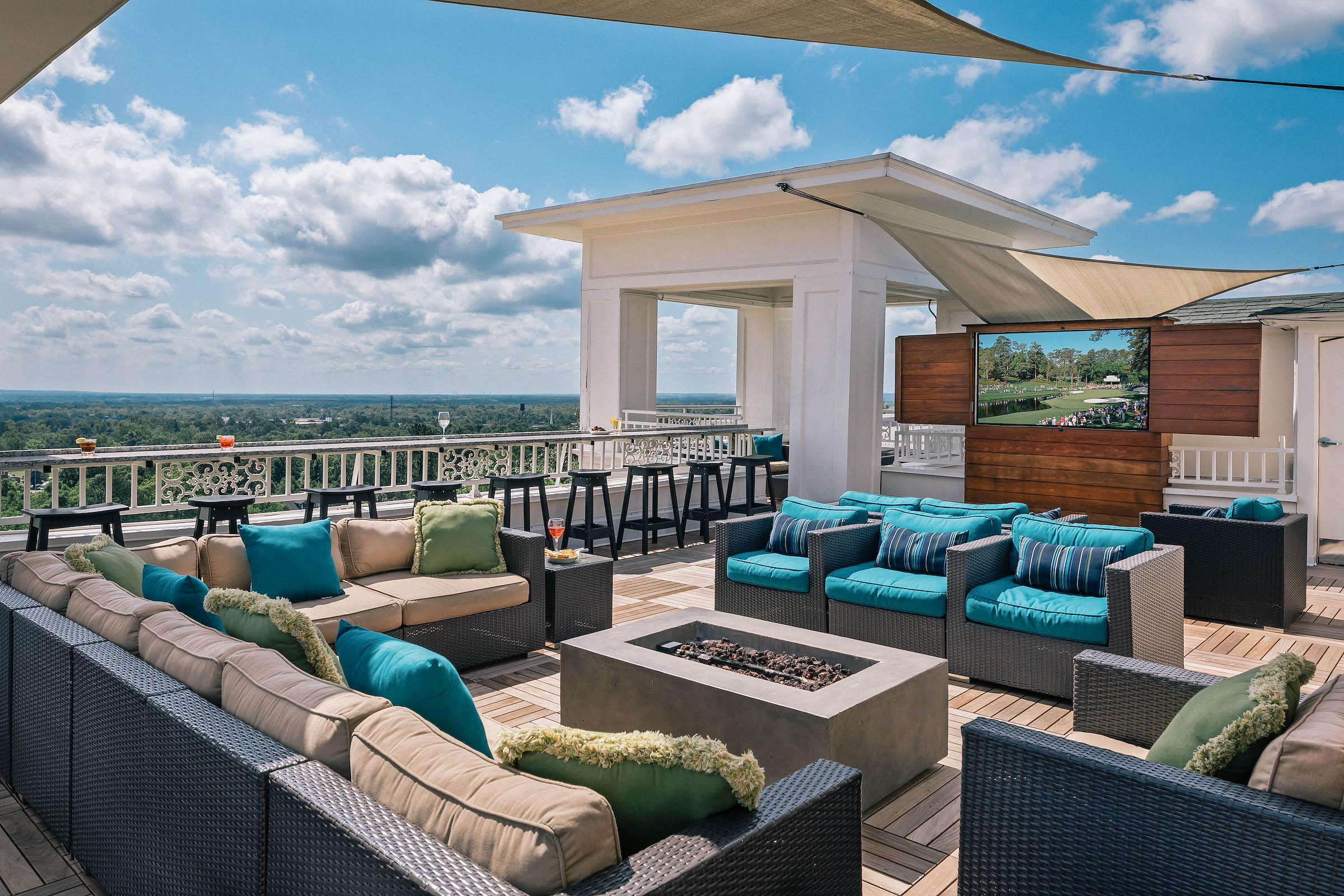 The-Partridge-Inn-Augusta-Georgia-Review-rooftop-view