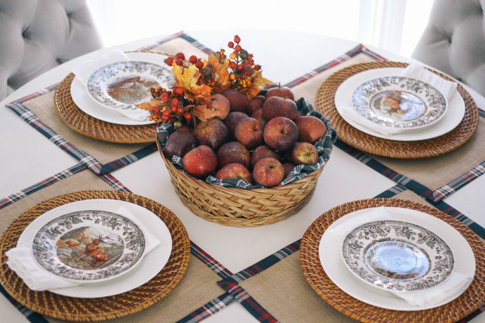 Fall-Tablescape-Animal-Game-China-3