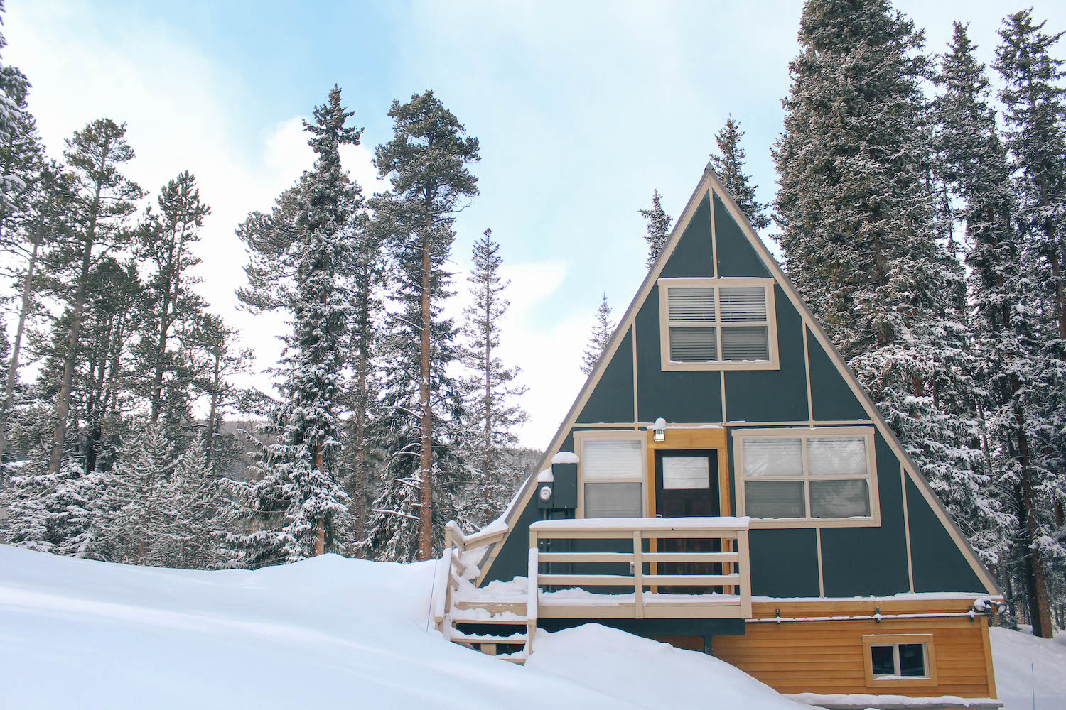48 hours in breckenridge co peachfully chic for Breckenridge cottages